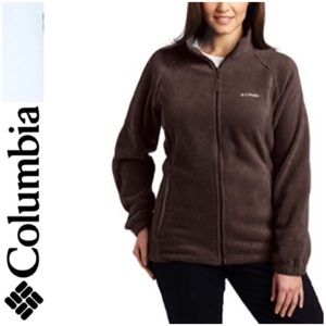 COLUMBIA Benton Springs Full Zip Jacket EUC